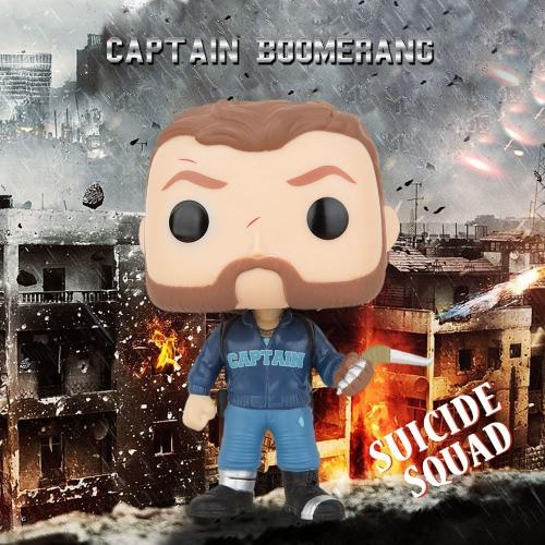 FUNKO POP Movie Suicide Squad Action Figure Vinyl Model Collection -  Captain Boomerang