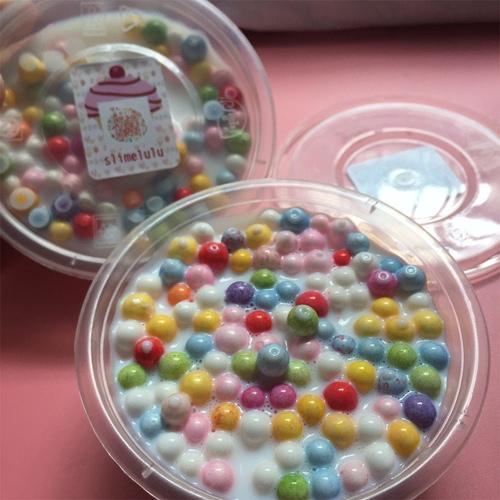 Magia fai da te sicura Floam Slime Safe Slim Stress Relief Putty Soft Cotton Fango giocattoli No Borax Fango giocattolo