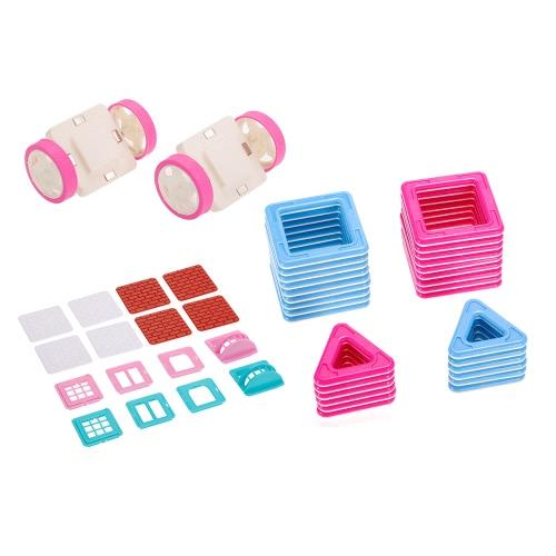 48PCS Magnet-Gebäude-magnetische Block-Aufbau-pädagogische Spielwaren für Kinder