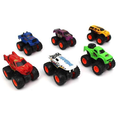 1/48 6 in 1 kit auto bidirezionale di attrito per l'automobile di inerzia per i bambini