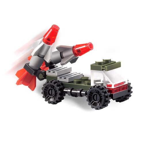 3 set XIPOO serie militare XP91003 XP91004 XP91005 combattimento veicolo Educational Building Block Giocattoli