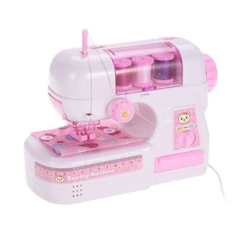 Giocattolo per macchina da cucire elettrico Kids Pretend Gioca a giochi di giocattoli per bambini