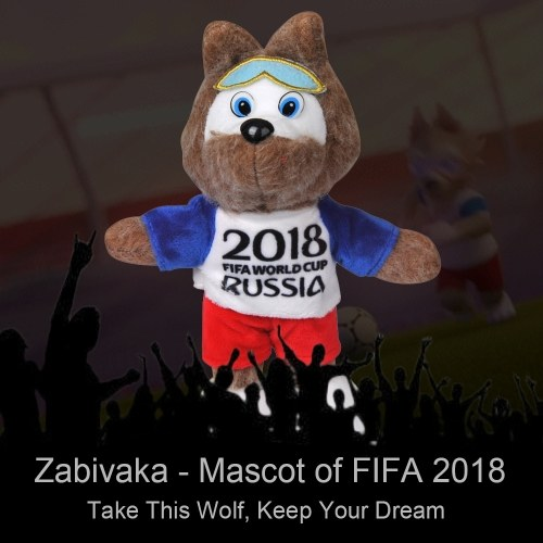 42% OFF Zabivaka Mascot of FIFA World Cup 2018 Stuffed Plush Toy,limited offer $5.99