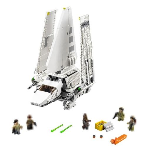 LEPIN 05057 937pcs Serie Star Wars Imperial Shuttle Taidiriamu Spaceship Building Blocks Kit Set - Sacchetto di plastica confezionato