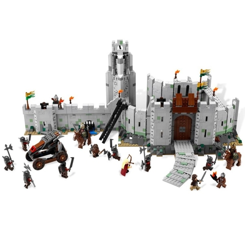 LEPIN 16013 1368pcs Movie Series The Lord of the Rings The Battle of Helm's Deep Model Building Blocks Bricks Kit Set - Plastic Bag Packaged
