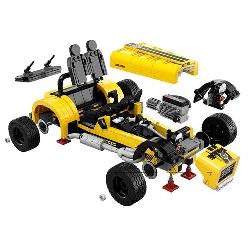 Original Box LEPIN 21008 771pcs Technic Series Caterham Seven 620R Model Building Blocks Bricks Kit