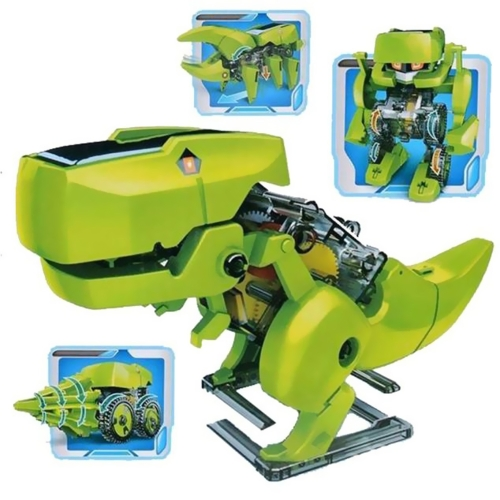 Assemble 4 In 1 Educational Science Learning Solar Robot Toy Drilling Machine Dinosaur Insect DIY Kit