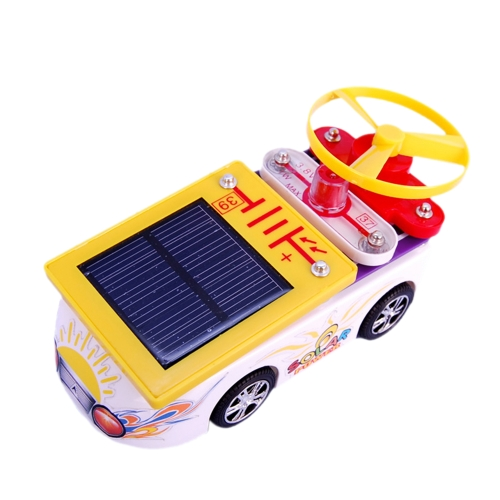 Learning Circuits Powered by Solar or Battery Mini Car Electronic Discovery Kit  Educational Electronic Block Science Experiments Kits Best DIY Toy for Ages 8+ Kids