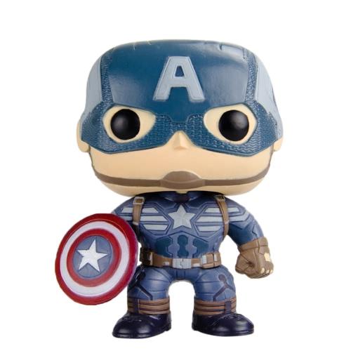 Funko POP Marvel Captain America 2 Action Figure Captain America Movie Figure