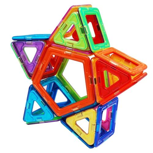 40 Pieces Magnetic Construction Blocks Building Blocks 3D Blocks Building Tiles