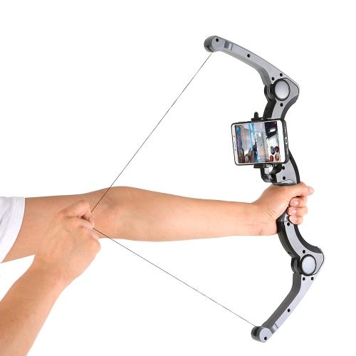 Najnowszy Augmented Reality ABS Materiał AR Łucznictwo Łączy się z BT Connection Virtual High-tech Bow-shaped Gaming