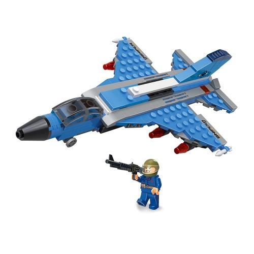 6-w-1 XIPOO 1233szt. XP91017 Niebieski Wieloryb Bitwa Cruiser Bloki konstrukcyjne Zabawki edukacyjne