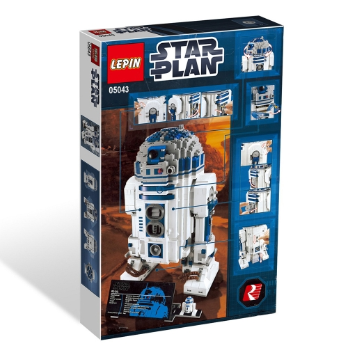 Original Box LEPIN 05043 2127pcs Star Wars Series The R2-D2 Robot Set - Star Wars Building blocks Kit