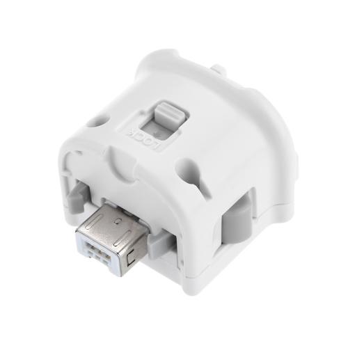 Adattatore Motion Plus con custodia in silicone per telecomando Nintendo Wii