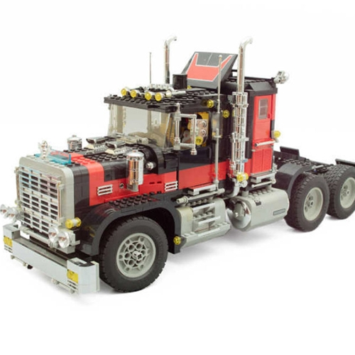 Scatola originale LEPIN 21015 1743 pz Serie Technic Giant Truck Modello Building Blocks Kit mattoni