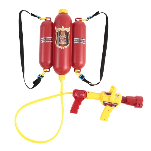 Fireman Backpack Water Spraying Gun Toy for Kids