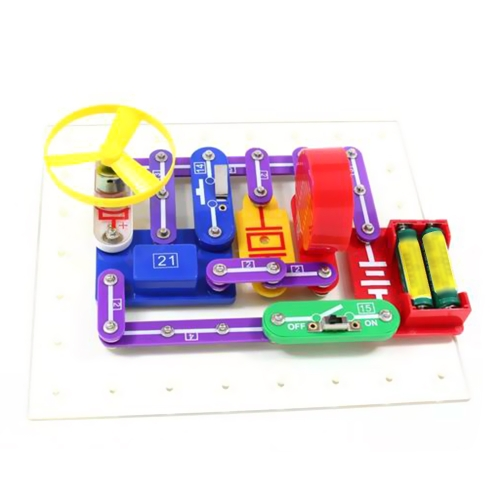 Elettronica Discovery Kit Educational Electric DIY Circuit Blocks Scienza Esperimento Toy for Age above 5 Kids