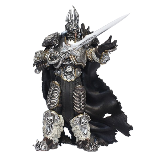 World of Warcraft Fall Of The Lich King Arthas Menethil 23cm Action Figure Toy PVC Collectible Figures Model Dolls Children Gifts