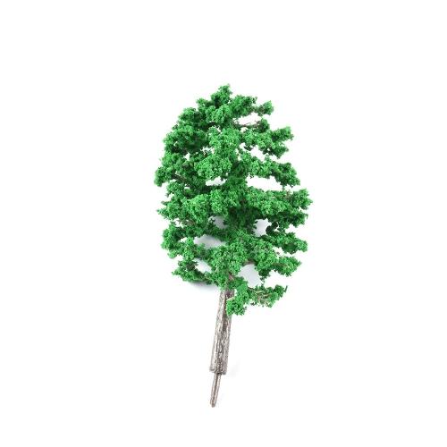 1 Pcs 11cm Model Scale Tree Plastic Miniature Landscape Scenery Train Railways Mini Layout Rainforest Trees