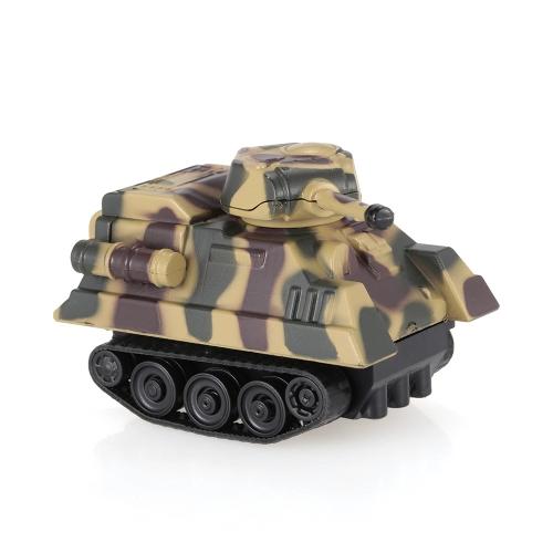 GOLD LIGHT Magic Mini Tank Siga Black Drawn Line Toy Car