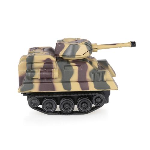 GOLD LIGHT Magic Mini Tank Follow Black Drawn Line Toy Car