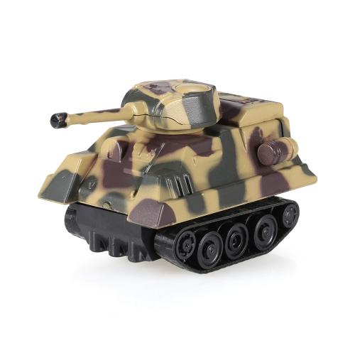 GOLD LIGHT Magic Mini Tank Podążaj za Black Drawn Line Toy Car