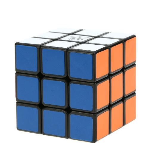 Dayan Guhong I 3 * 3 Magic Cube Speed Cubo Virtual Spherical Structure 6 Color Solid Eco-friendly Plastics Cube Puzzle White Ground