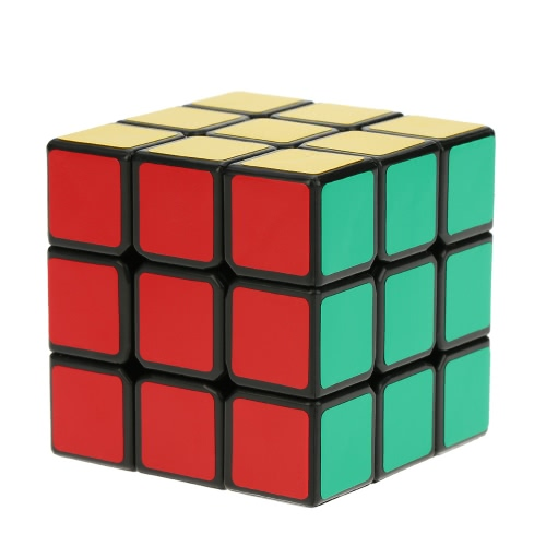 Dayan Guhong II 3 * 3 Magic Cube Speed Cubo Virtual Spherical Structure 6 Color Solid Eco-friendly Plastics Stickerless Cube Puzzle Colorful Ground