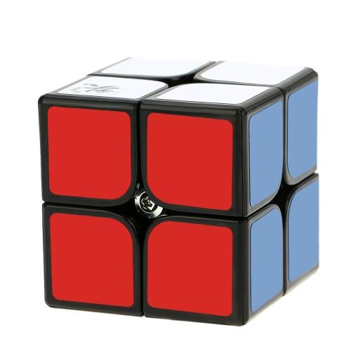 Dayan Zhanchi cubo magico 2 * 2 velocità Cubo struttura anti-POP 6 colore solido ecologico plastica cubo Puzzle nero terra 50 MM