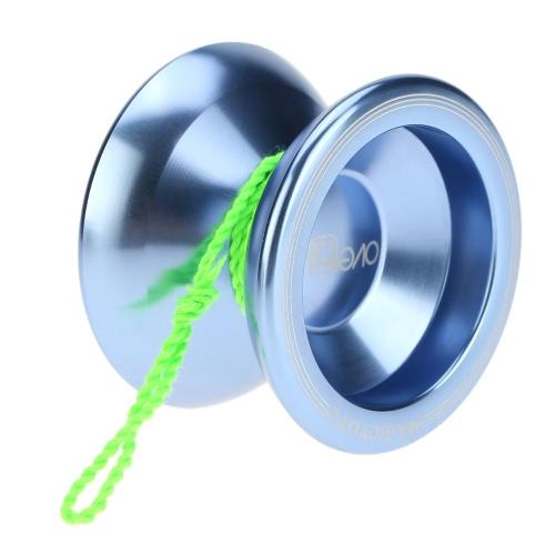 Professionale Magic Yoyo T5 Overlord alluminio lega Metal Yoyo 8 KK cuscinetto con String per bambini lago blu della sfera