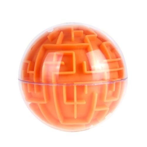 ミニ3Dマジックボールパズルインテリジェンス迷路ゲーム円形の形状の玩具チャレンジ子供と大人のためのギフト