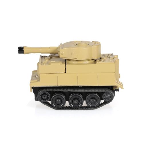 GOLD LIGHT Magic Mini Tank folgen schwarz gezeichnete Linie Spielzeugauto