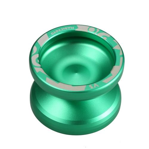 Magie Yoyo V3 Responsive High-Speed-Aluminium-Legierung Yo-yo CNC-Drehmaschine mit Spinning Schnur für Jungen-Mädchen-Kind-Kind-Grün