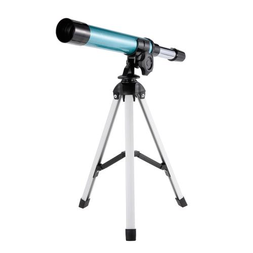 初期開発科学望遠鏡おもちゃ30mm対物レンズ旅行の屈折望遠鏡キッズ
