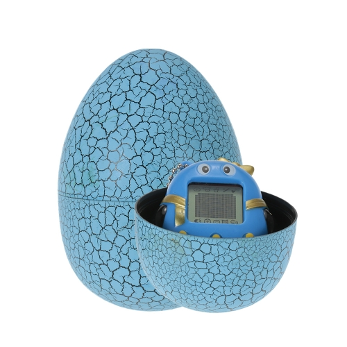 Cartoon Electronic Pet Game Toy Handheld Virtual Pet Keychain Dinozaur Egg Virtual Pets Zabawki dla dzieci Prezent