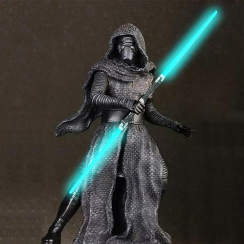 Star Wars Laser Sword Cosplay Prop Brillare suono e luce per bambini all'aperto giocattolo luminoso regalo lampeggiante