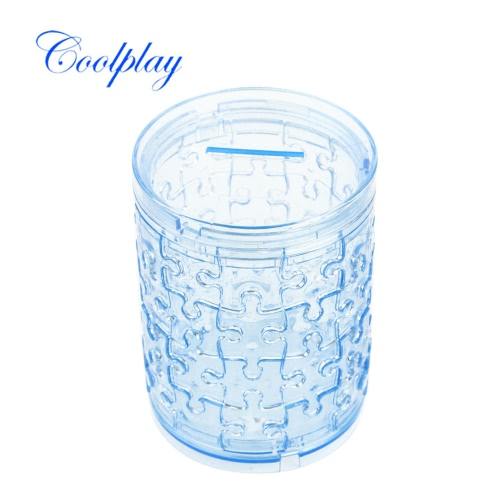 Coolplay 3D Crystal Puzzle Money Box Pen Container Model Cute DIY Building Toy Gift Gadget Crystal Blocks