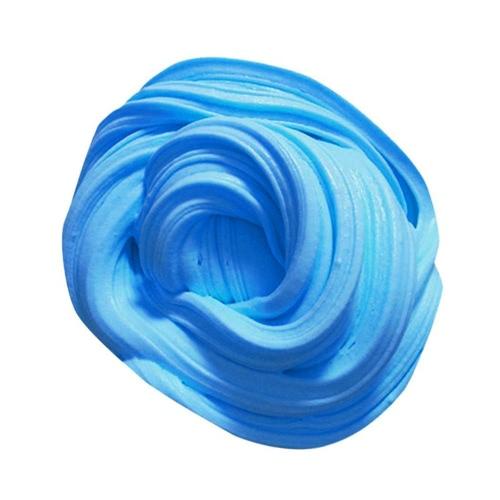 DIYの柔らかいふわふわのフロムスライム香りのあるストレスリリーフなしボラックススラッジコットンマッドリリースクレイのおもちゃPlasticine子供と大人のための