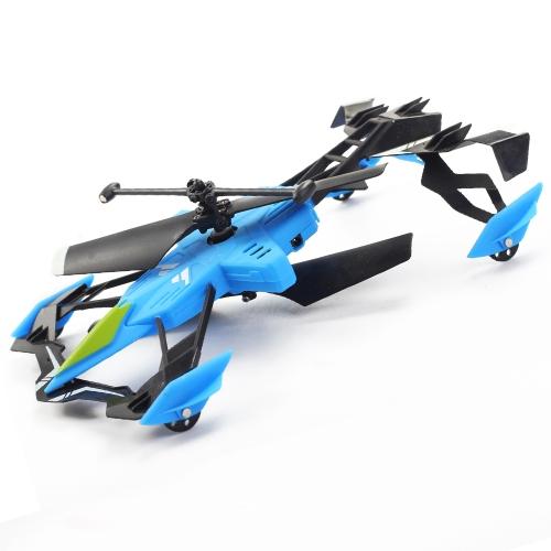 Model śmigłowca Switchblade Aerodyne Ground i Air Race Pilot RC Heli Samoloty z Gyro Car Toy dla dzieci Nowy Rok Boże Narodzenie