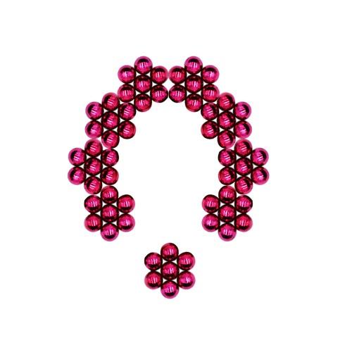 5 mm 64 Stück magnetische Beads Magic Balls Kugeln DIY Handwerk Puzzle Neodym-Eisen-Pädagogische Spielwaren-Rose