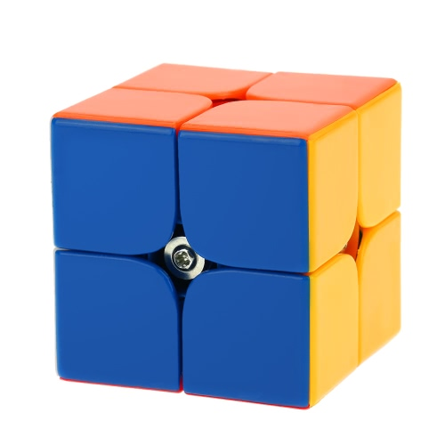 Dayan Zhanchi 2 * 2 Magic Cube Speed Cubo Anti-POP Structure 6 Color Solid Eco-friendly Plastics Cube Puzzle White Ground 46 MM
