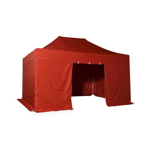 Tente pliante 3x4.5m Pack complet Acier 32mm Polyester 300g/m²