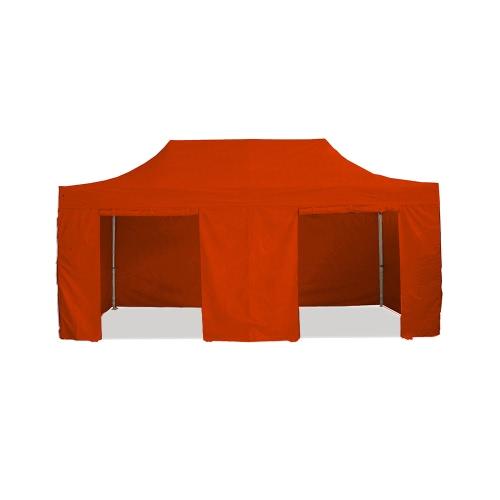 Barnum pliant 3x6m Pack complet Alu 40/45 polyester 300g/m² pelliculé PVC