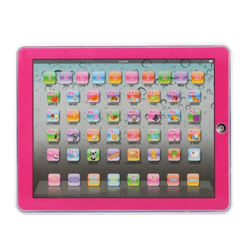 Y-Pad Touch Screen Pad Children's Learning Alphabet Tablet Machine Computer Laptop Educational Toy for Baby Kids