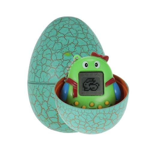 Karikatur-elektronisches Haustier-Spiel-Spielzeug-Handvirtuelles Haustier Keychain Dinosaurier-Ei-virtuelle Haustier-Kinderspielzeug-Geschenk