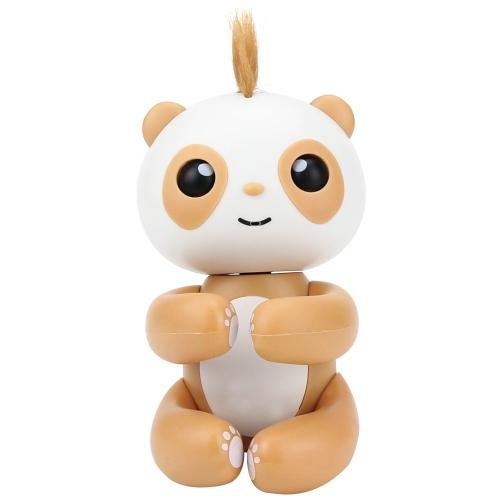 指先のパンダスマートタッチ誘導ペットのおもちゃインタラクティブな楽しい指先のおもちゃかわいいハンギングの人形ベストキッズギフト