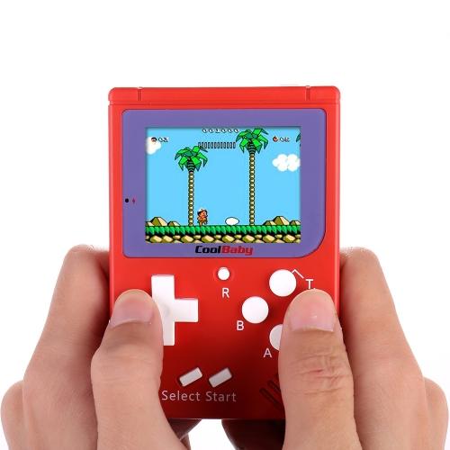 ポケットハンドヘルドビデオゲームコンソール2.2インチLCD 8ビットミニポータブルゲームプレイヤー内蔵129ゲーム