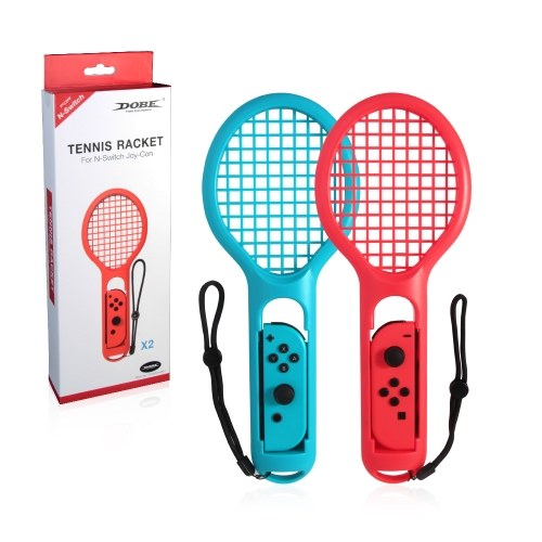 Racchetta da tennis Twin Pack per controller Joy-Con N-Switch per Mario Tennis Games