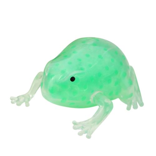Gel Bead gefüllt Transparent Frosch Antistress Ball Kinder Autismus Squeeze Sensory Toy