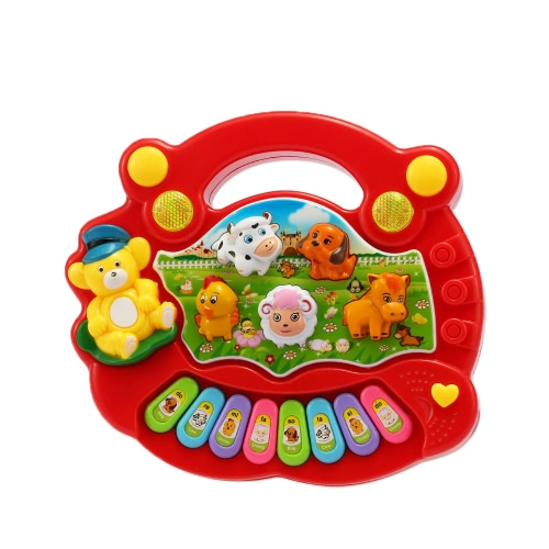 Coolplay  Baby Kids Toddler Musical Educational Animal Farm Piano Electronic Keyboard Music Development Kids Toy